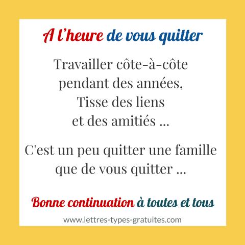 Dire Au Revoir Aux Collègues Avec Humour Amitié Message