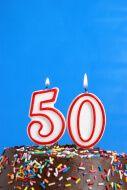 Message pour l'anniversaire des 50 ans