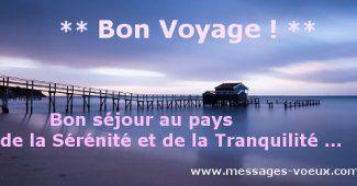 Textes Bon Voyage