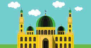 La prière de l'Aid Kabir à la Mosquée