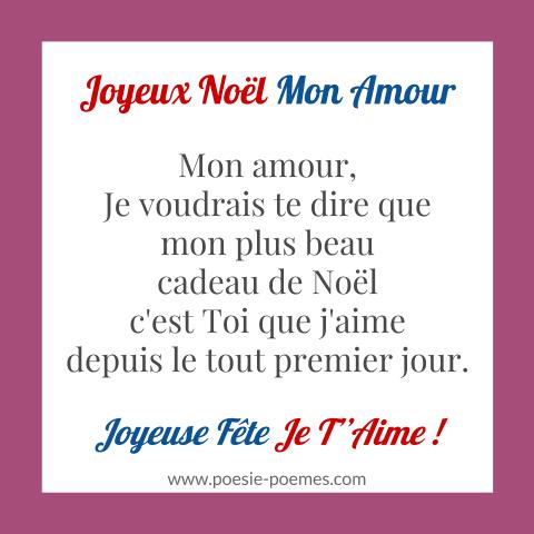 Poèmes Damour Pour Souhaiter Joyeux Noel Avec Un Message