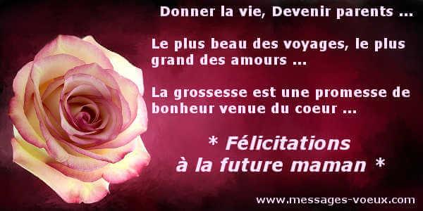 Félicitations Grossesse Messages Pour Féliciter Future Maman
