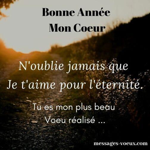 10 Voeux En Mots Damour Bonne Année Beaux Sms Romantiques