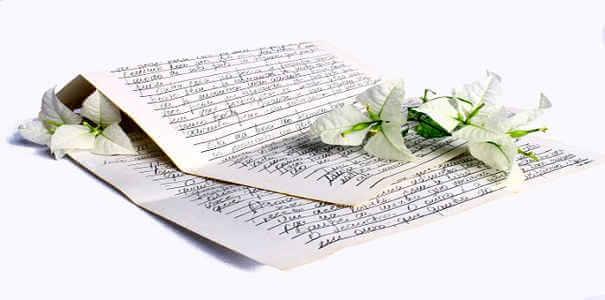 Lettre d'aurevoir d'amour ou d'amité