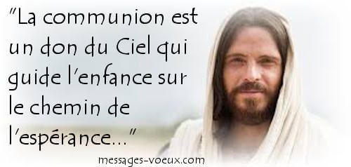 image communion carte chrétienne