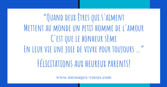 Modèles De Textes Pour Naissance Petit Garçon