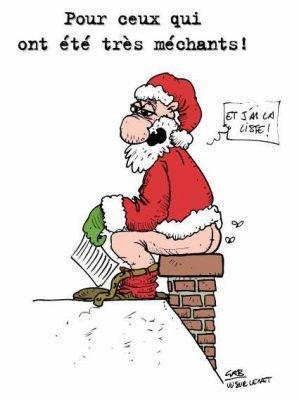 petit papa Noël marrant